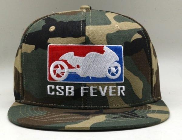 CSBFEVER Camo Snapback Cap (1)