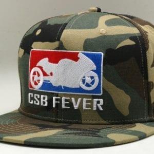 CSBFEVER Camo Snapback Cap (3)