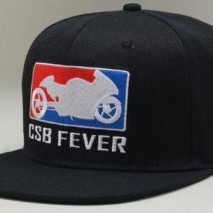 CSBFEVER Flat Brim Snapback Cap (1)