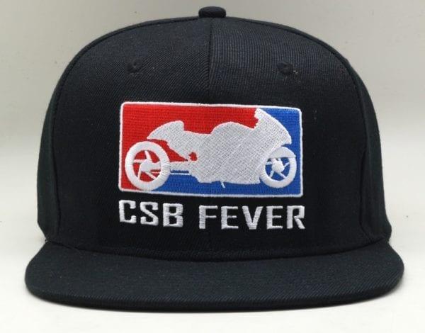 CSBFEVER Flat Brim Snapback Cap