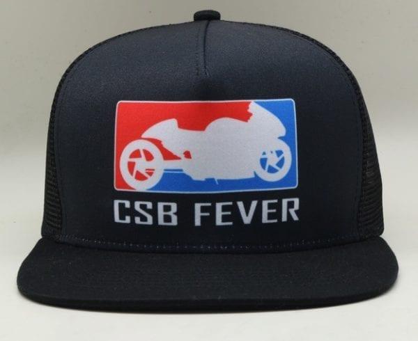 CSBFEVER Flat Brim Trucker Cap (1)