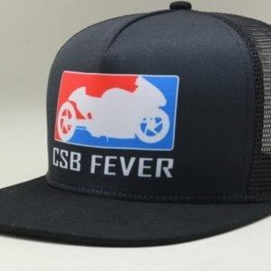 CSBFEVER Flat Brim Trucker Cap (3)