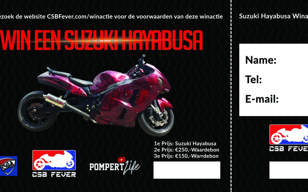 CSBFever Suzuki Hayabusa Win Actie